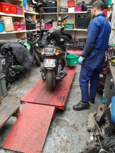 depannage moto
