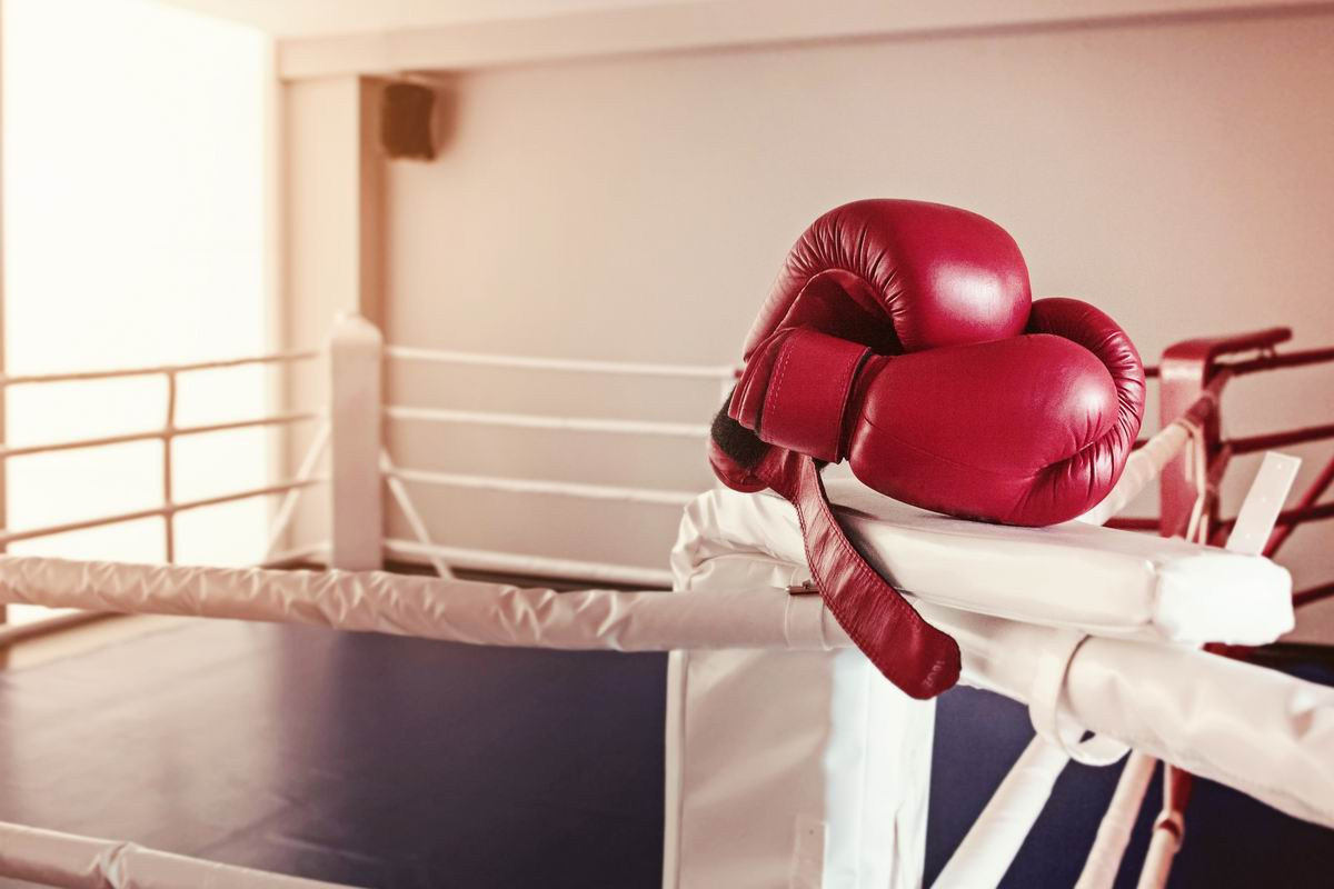 Sur le ring de boxe, sécurité avant tout!